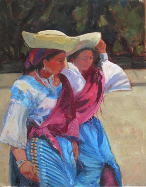 Views Of The Andes Painings From Acuador Janda Grove Fine Art
