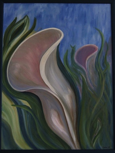 My Plant Spirit OIl on Canvas,  24 x 18 Sold, prints or giclees available